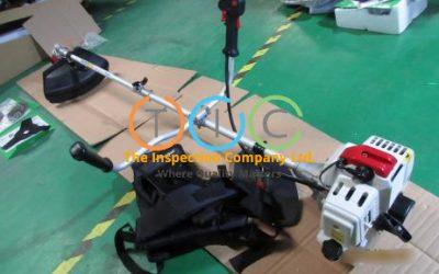 Grass cutter inspection