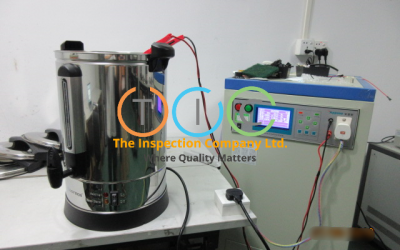 Electric Water Boiler Inspection