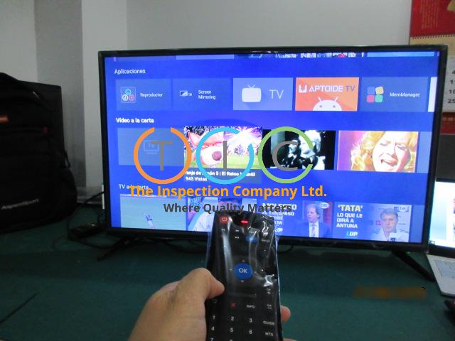 Smart TV Inspection